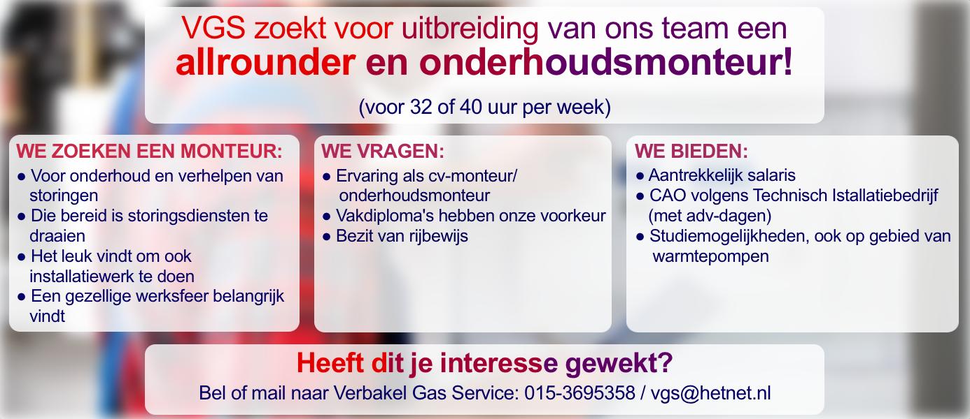 Verbakel Gas Service
